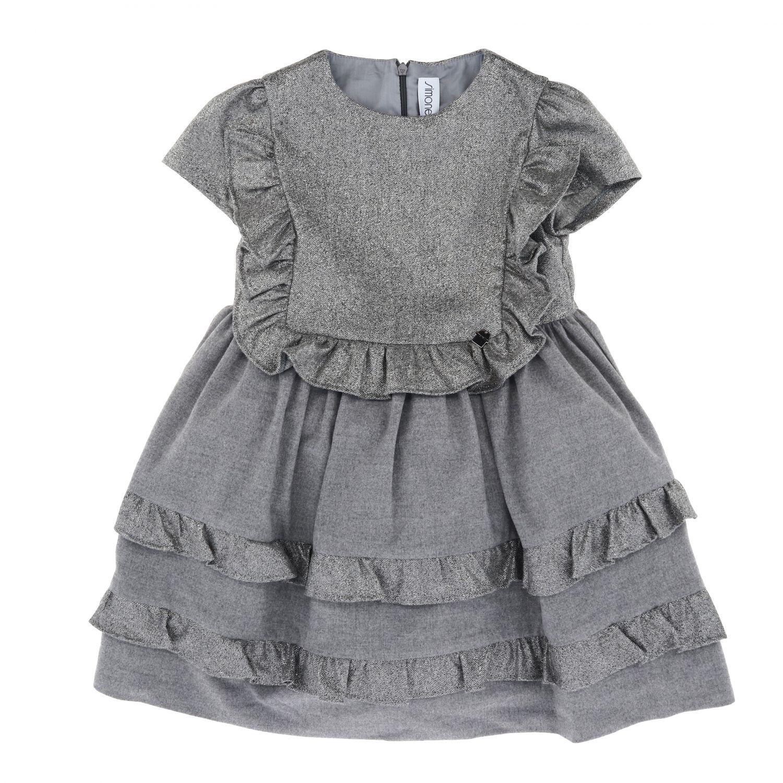 连衣裙 儿童 Simonetta 灰色 1