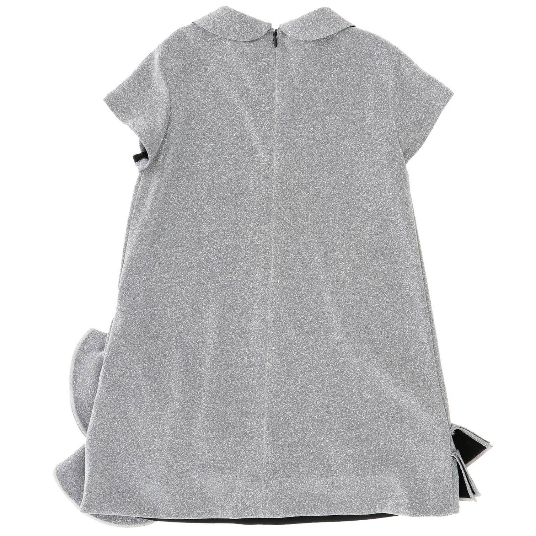 连衣裙 儿童 Simonetta 灰色 2