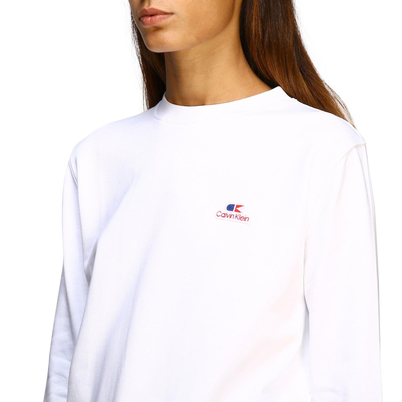 Sweatshirt Calvin Klein: Jumper women Calvin Klein white 5