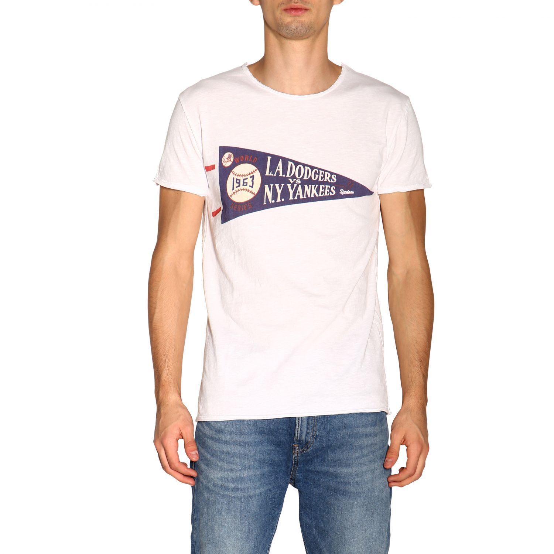 T-shirt #10 1921 a girocollo con maxi stampa bianco 1
