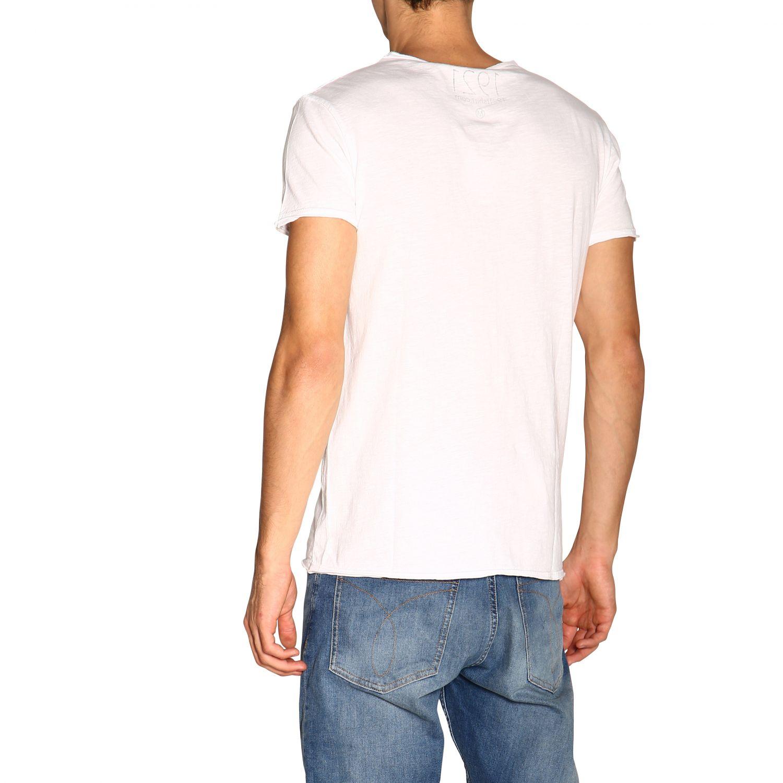 T-shirt #10 1921 a girocollo con maxi stampa bianco 3