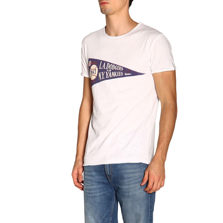 T-shirt #10 1921 a girocollo con maxi stampa bianco 4