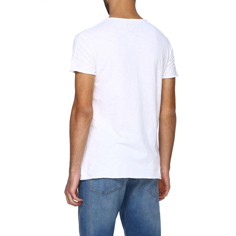 T-shirt homme 1921 blanc 3