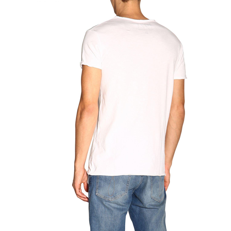 T-shirt #26 1921 a girocollo con maxi stampa bianco 3