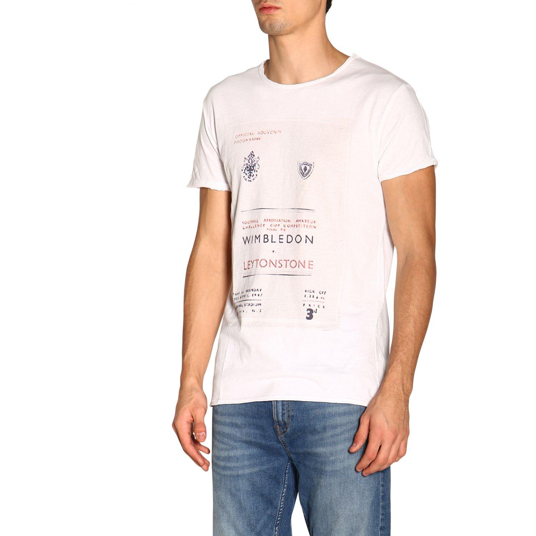 T-shirt #26 1921 a girocollo con maxi stampa bianco 4