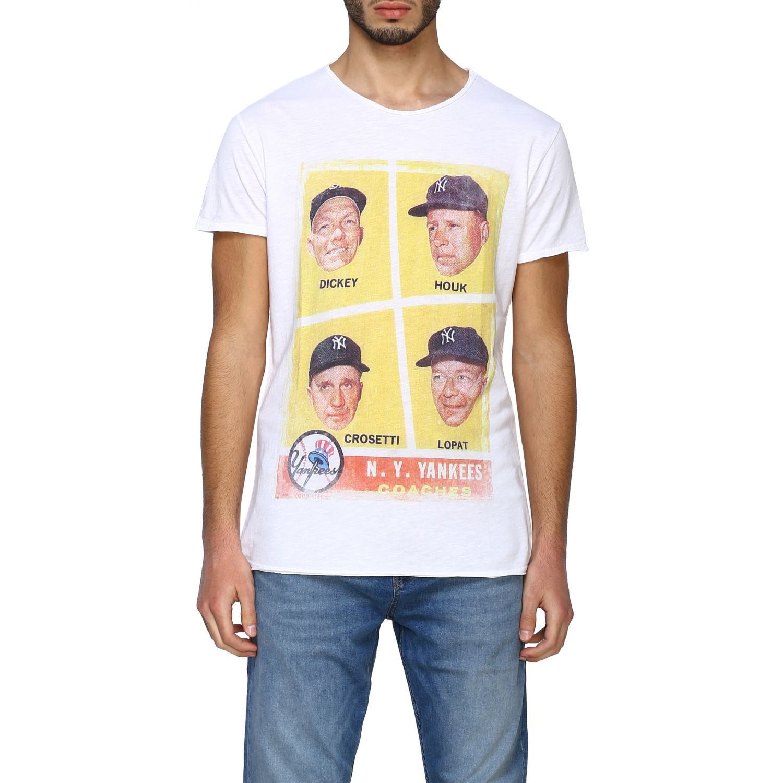 T-shirt 1921: T-shirt #04 1921 a girocollo con maxi stampa bianco 1