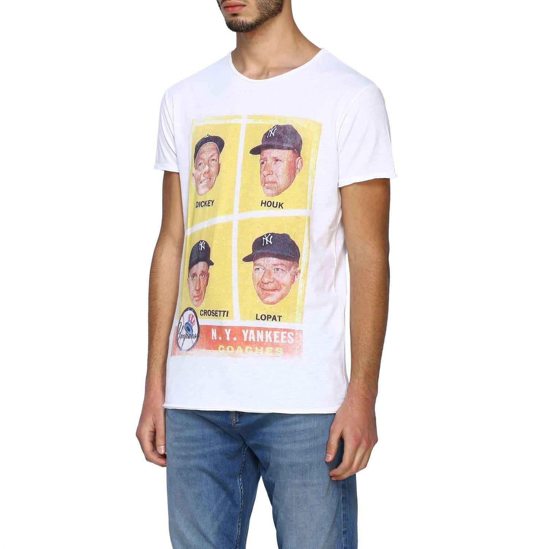 T-shirt 1921: T-shirt #04 1921 a girocollo con maxi stampa bianco 4