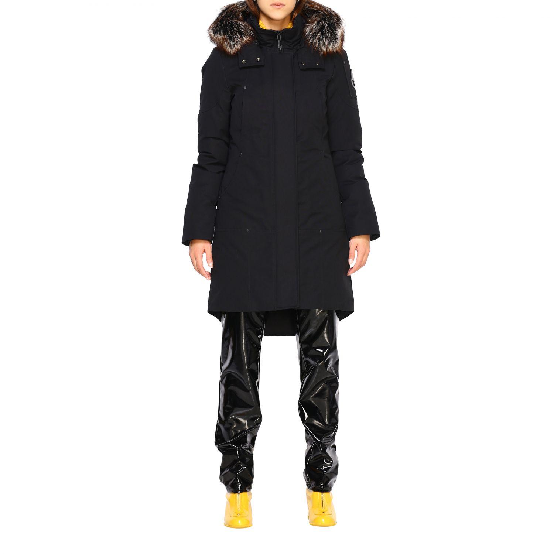 Veste femme Moose Knuckles noir 1