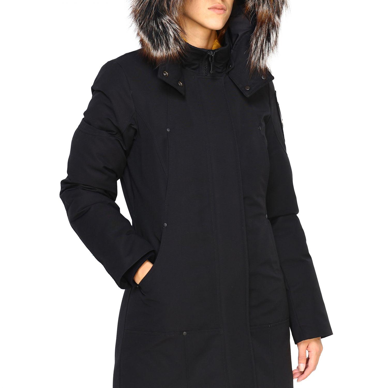Veste femme Moose Knuckles noir 5