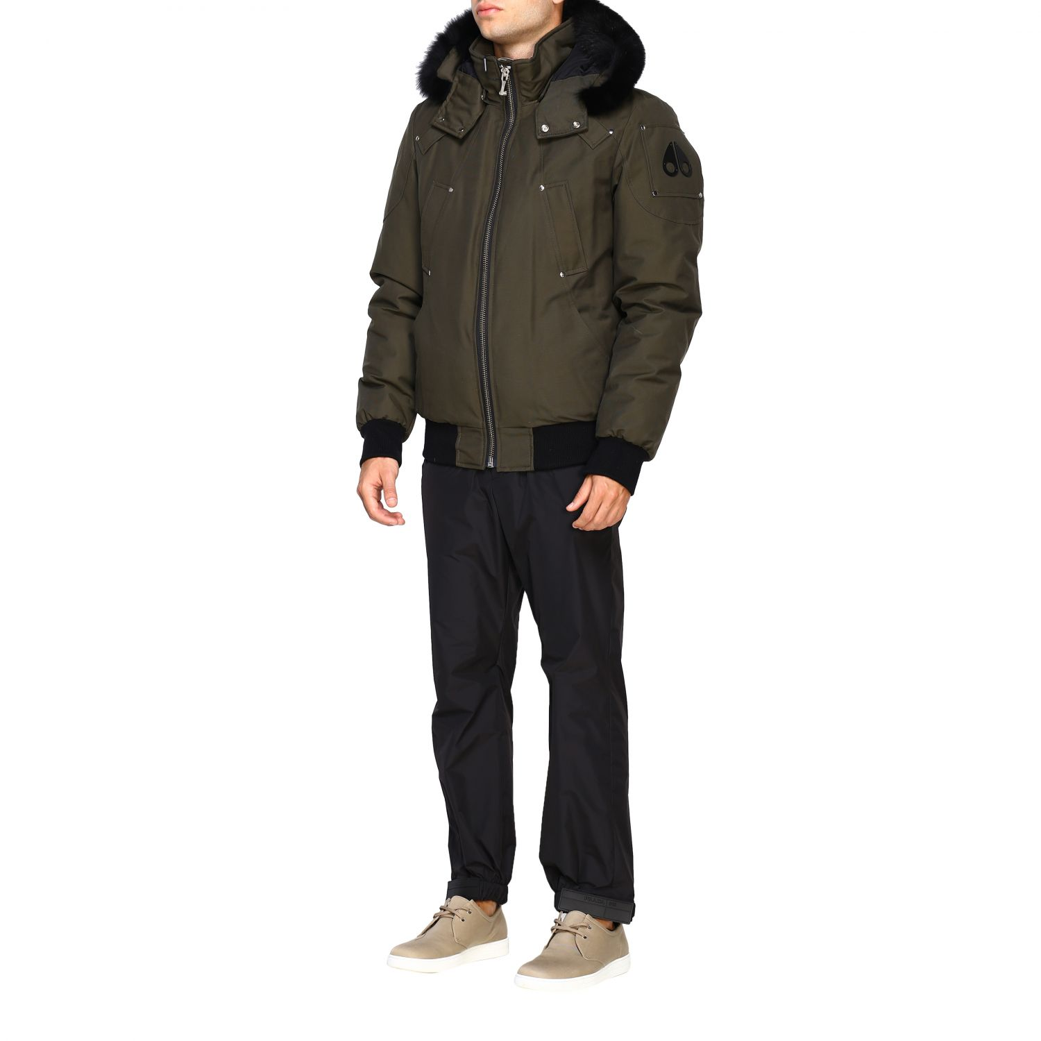 Giacca Moose Knuckles: Ballistic bomber militare 4