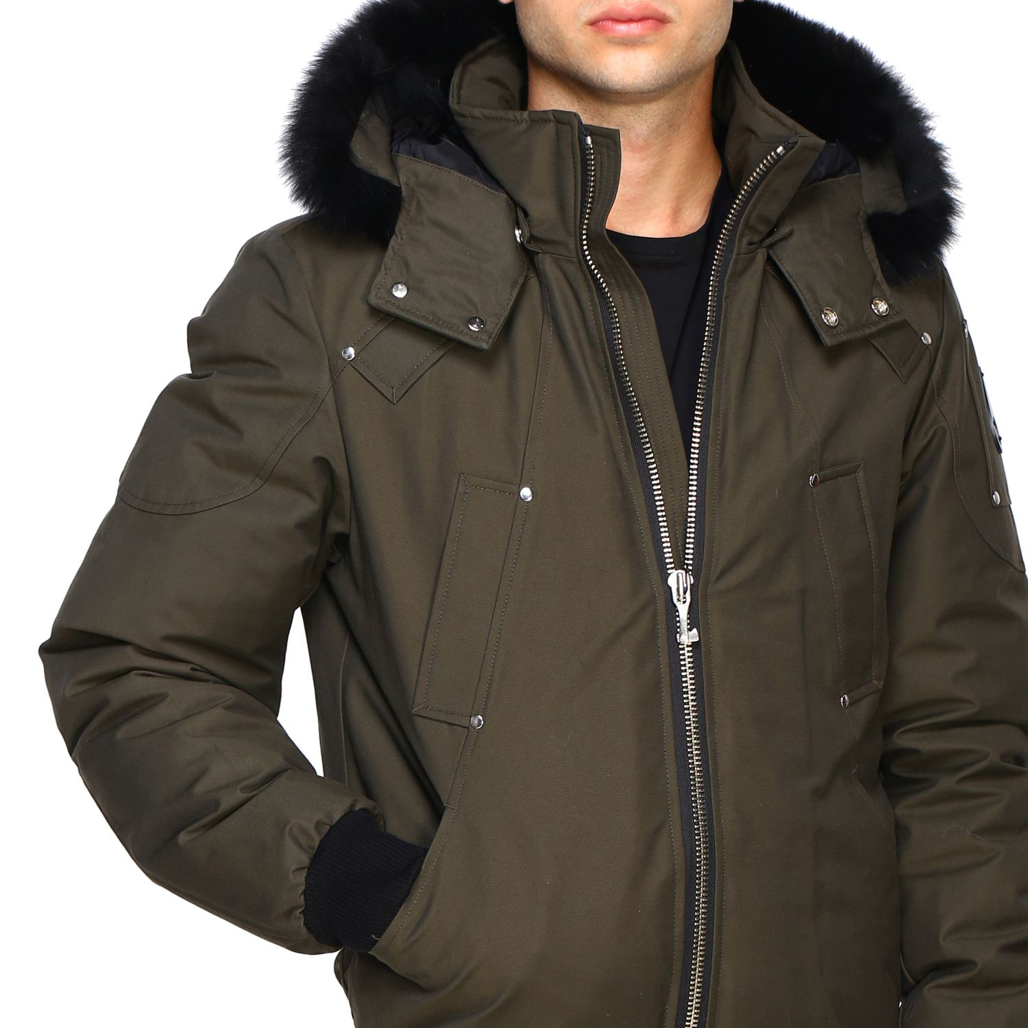Giacca Moose Knuckles: Ballistic bomber militare 5