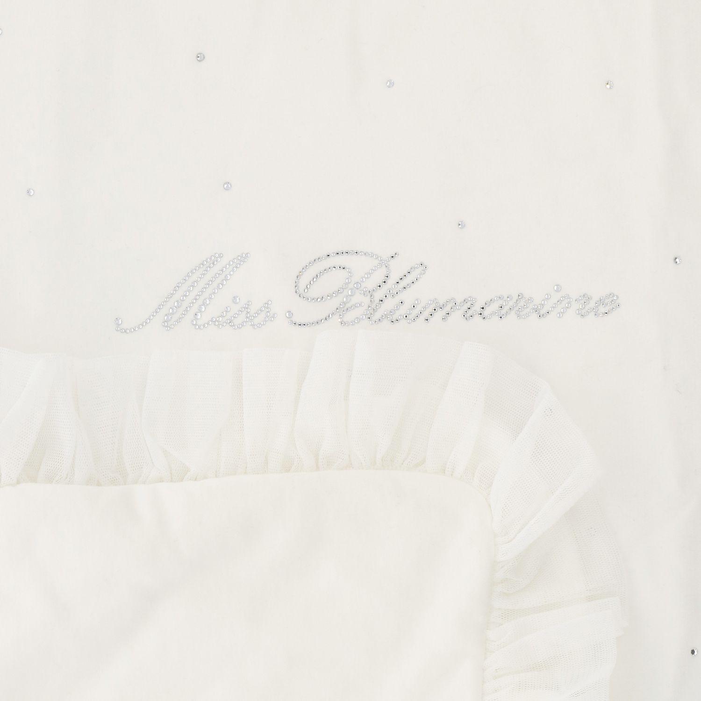 Blanket kids Miss Blumarine yellow cream 3