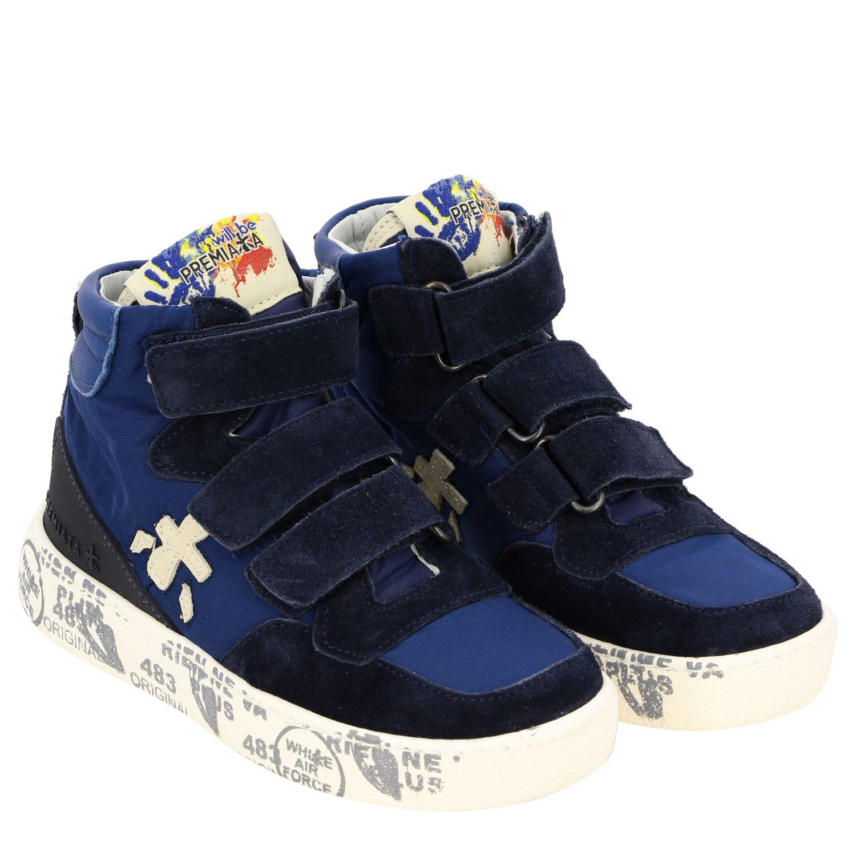 Zapatos niños Premiata azul oscuro 2