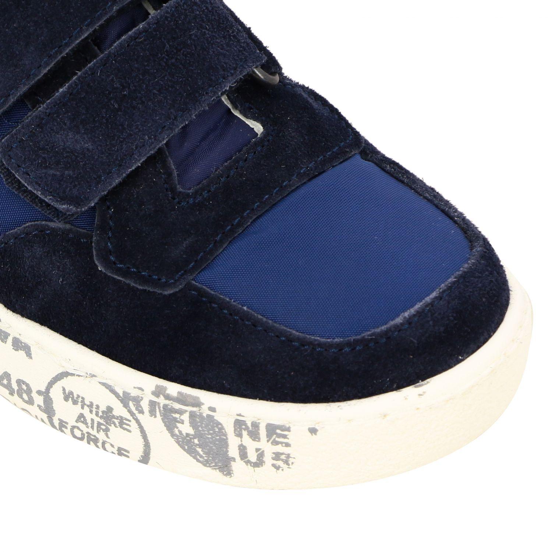 Zapatos niños Premiata azul oscuro 3