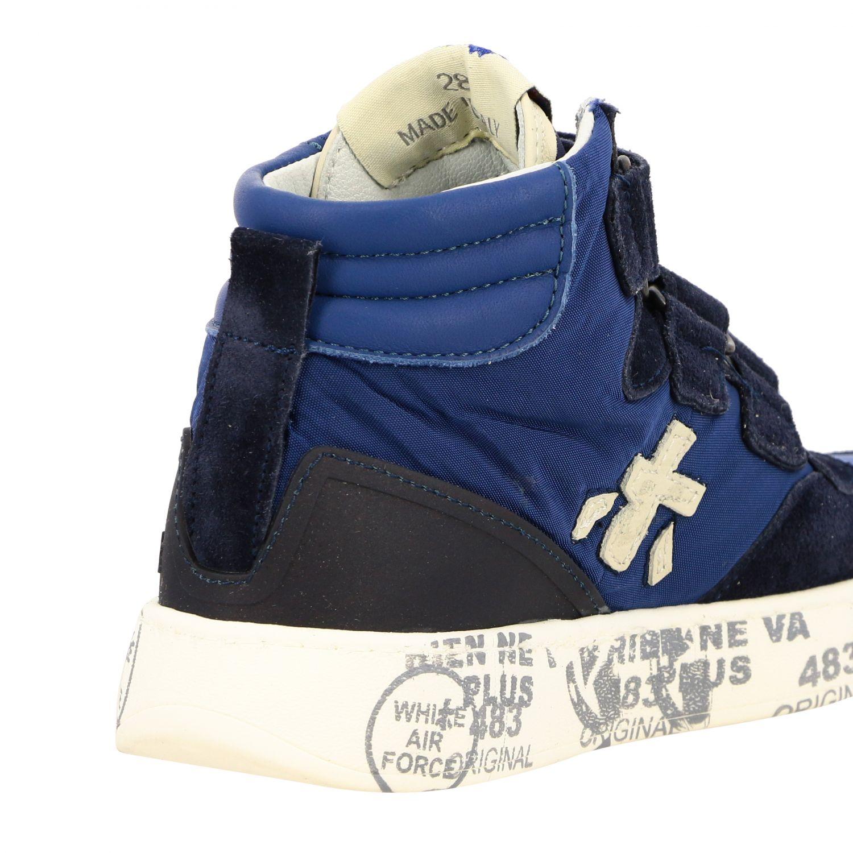 Zapatos niños Premiata azul oscuro 4