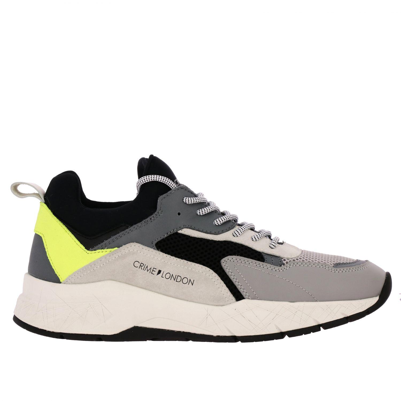 Sneakers Crime London: Shoes men Crime London grey 1