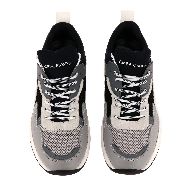 Sneakers Crime London: Shoes men Crime London grey 2