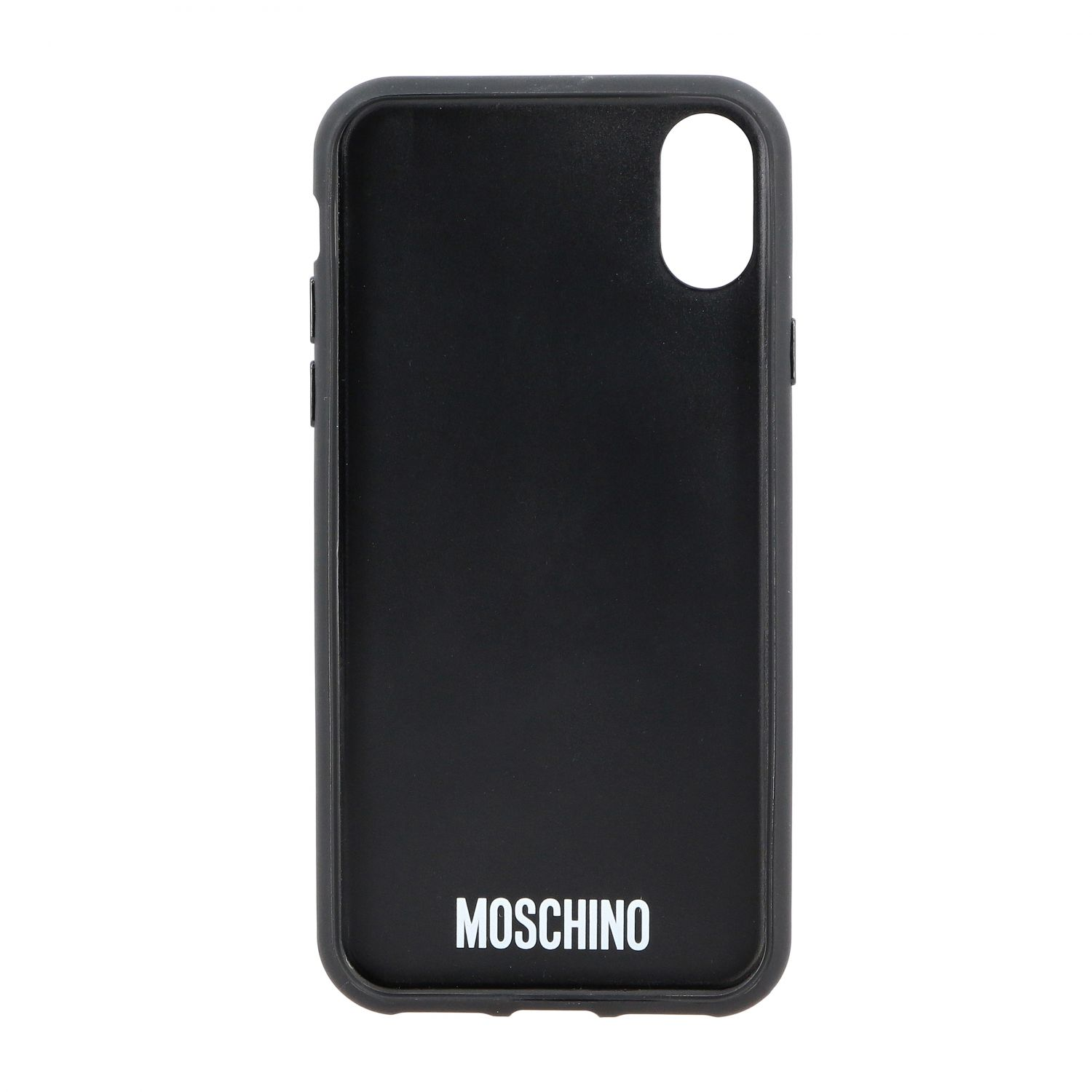 Cover Iphone X Moschino Couture bat teddy nero 2