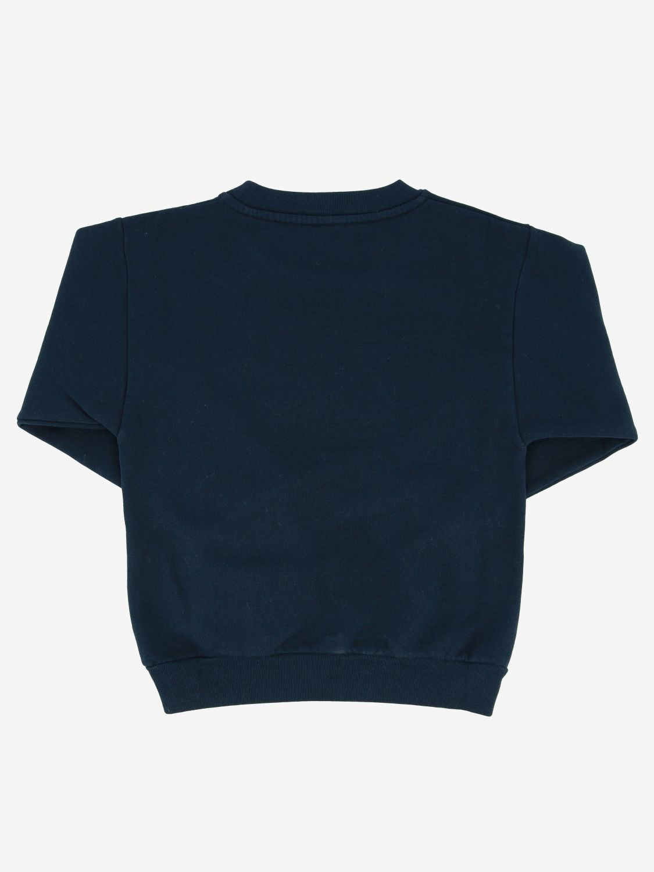 毛衣 Balenciaga: Balenciaga logo 圆领卫衣 蓝色 2