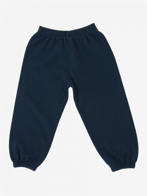 Pantalone Balenciaga: Pantalone jogging Balenciaga con logo blue 2