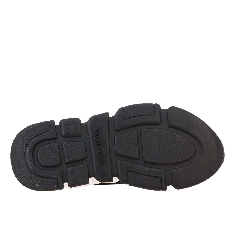 Scarpe Balenciaga: Sneakers Speed Balenciaga con logo all over nero 6