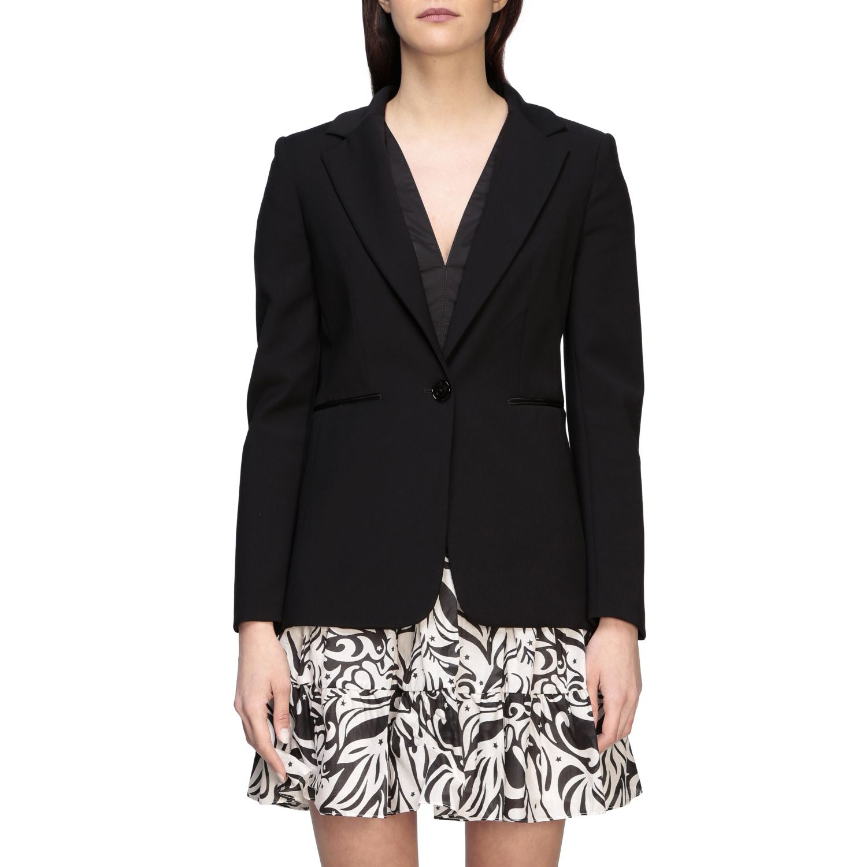 Jacket Pinko: Misticanza 1 Pinko single-breasted jacket black 1
