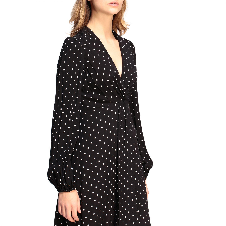 Dress Pinko: Dress women Pinko black 4