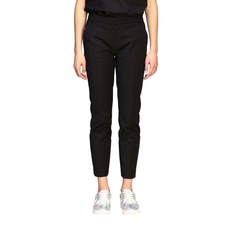 Bello 84 Pinko trousers in stretch technical fabric black 1