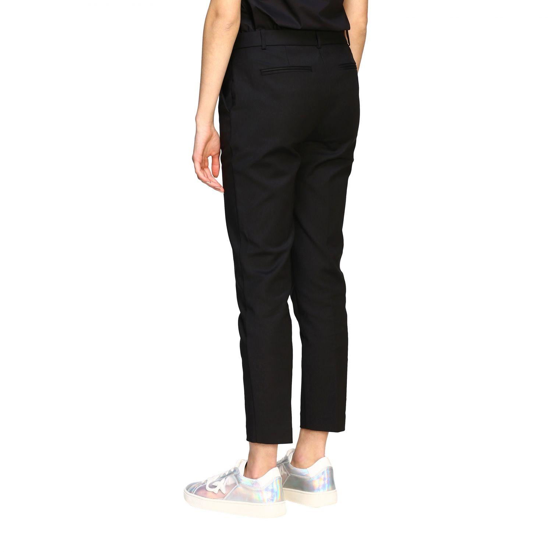 Bello 84 Pinko trousers in stretch technical fabric black 3