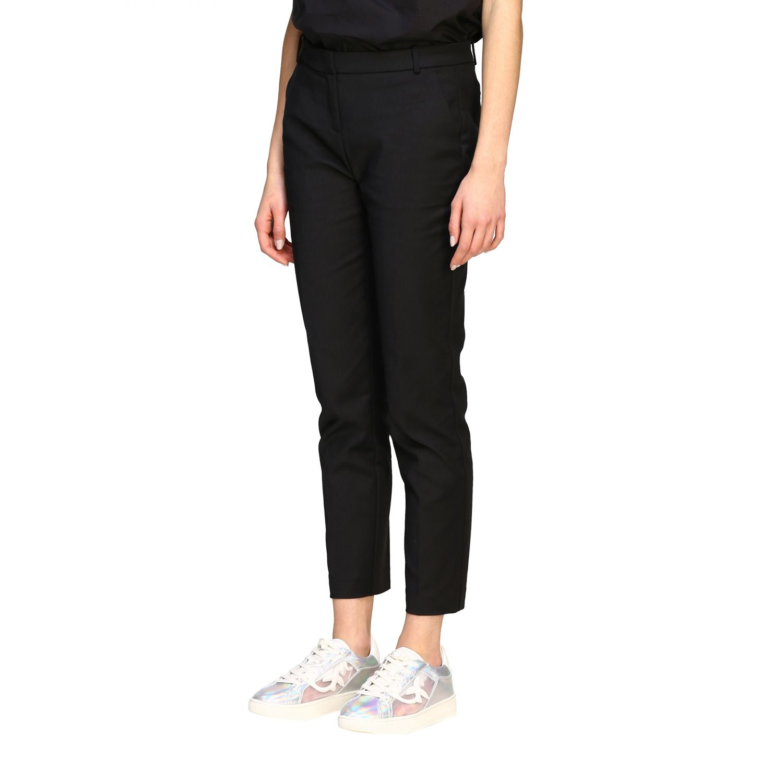Bello 84 Pinko trousers in stretch technical fabric black 4