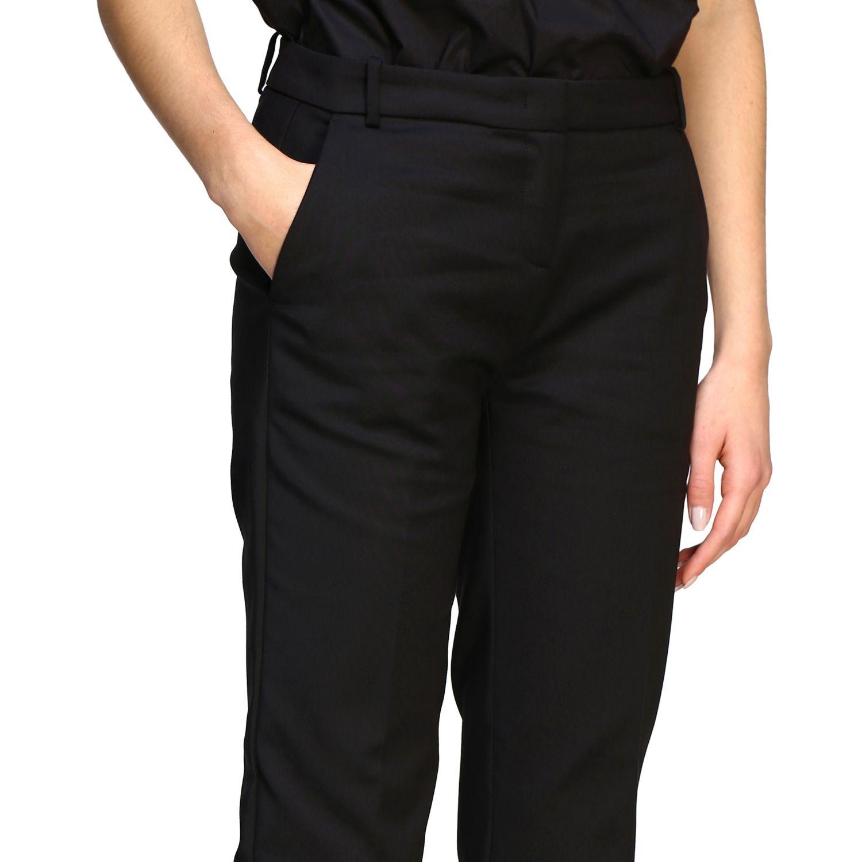 Bello 84 Pinko trousers in stretch technical fabric black 5