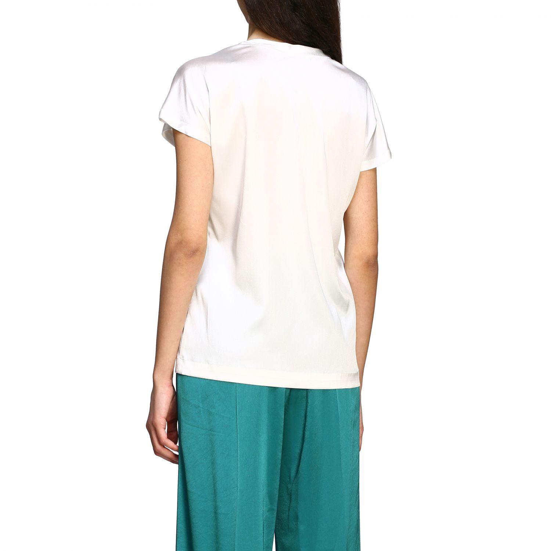 Farisa 16 Pinko crew neck sweater white 3