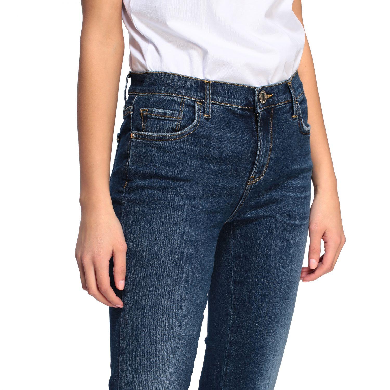 Jeans Fannie 7 Pinko a trombetta con vita alta blue 5