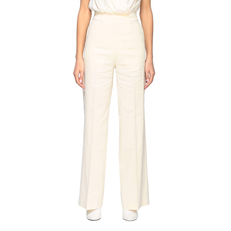 Trousers women Pinko white 1