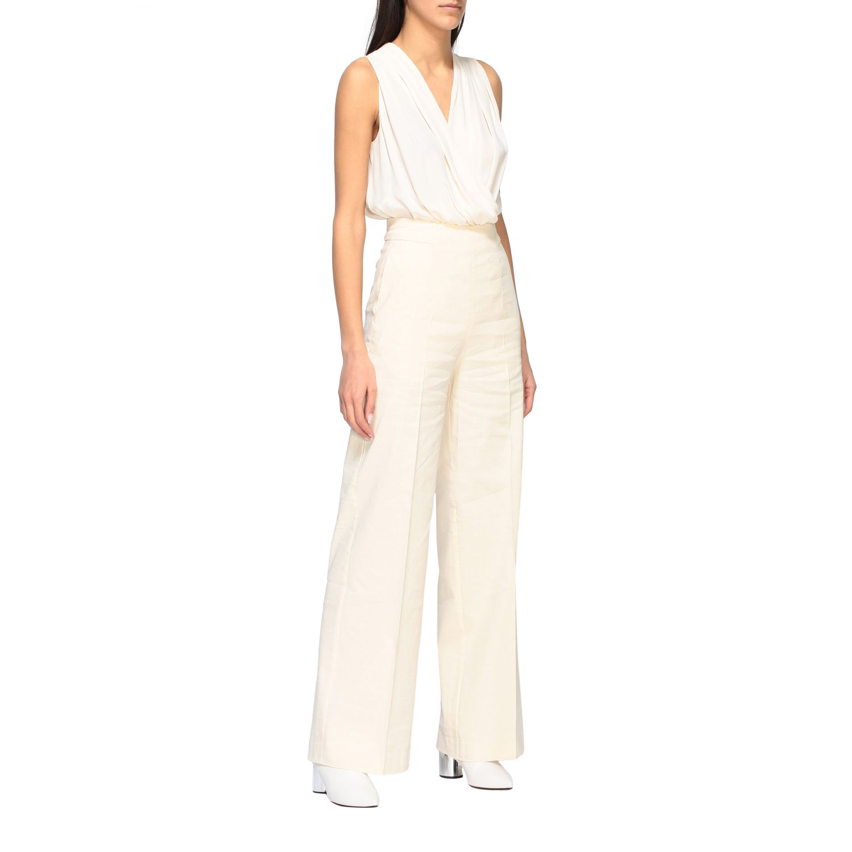 Trousers women Pinko white 2