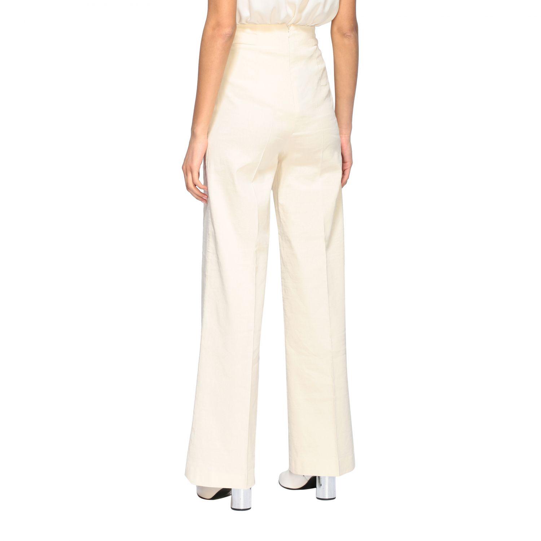 Trousers women Pinko white 3