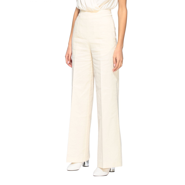 Trousers women Pinko white 4