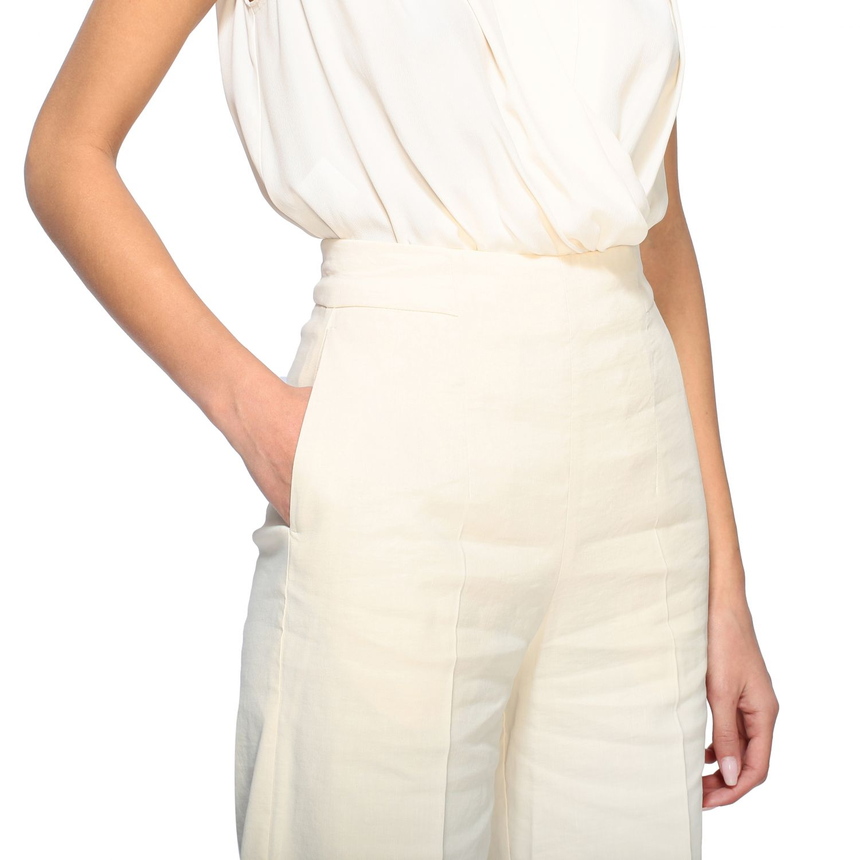 Trousers women Pinko white 5