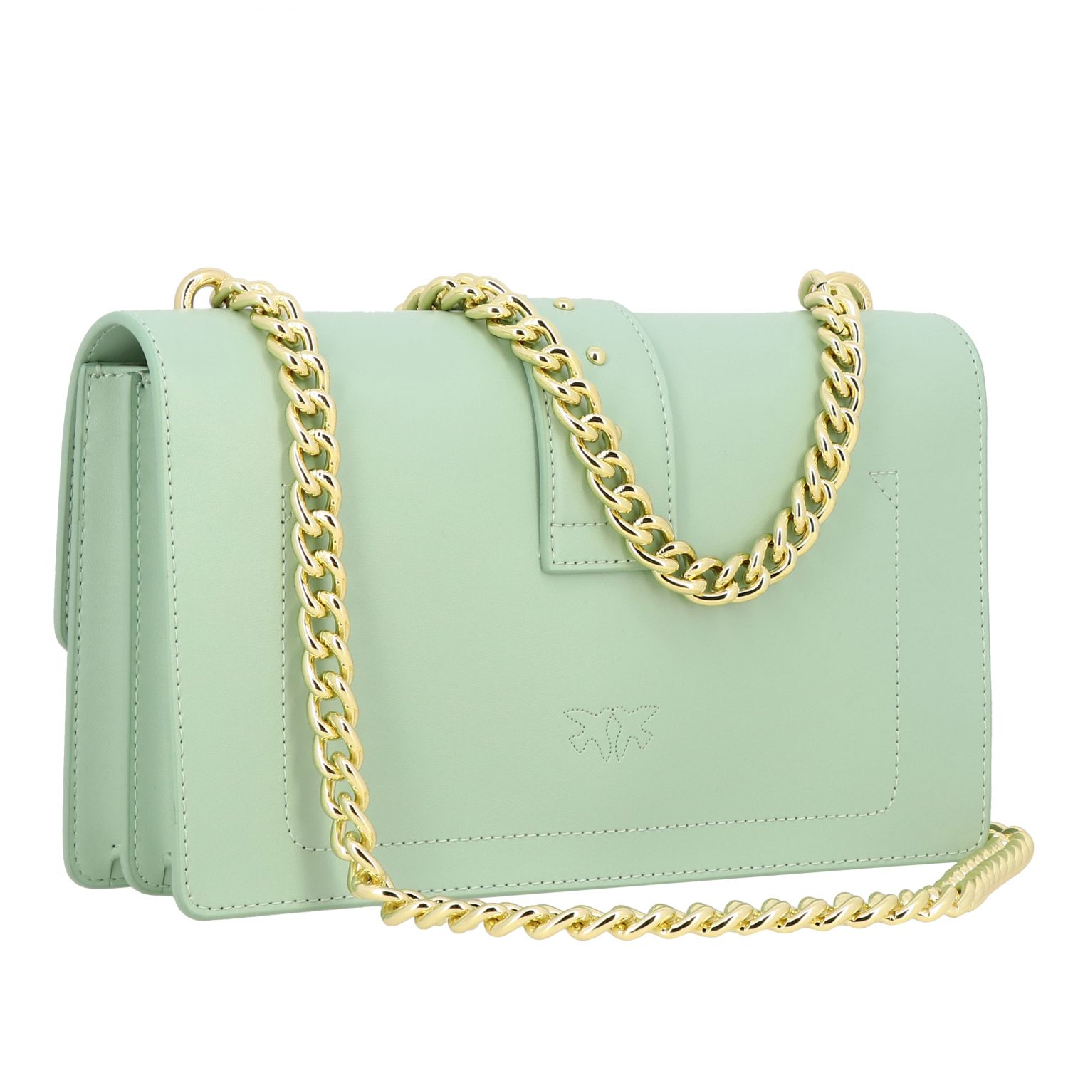 Borsa Love classic simply Pinko in pelle acqua 3