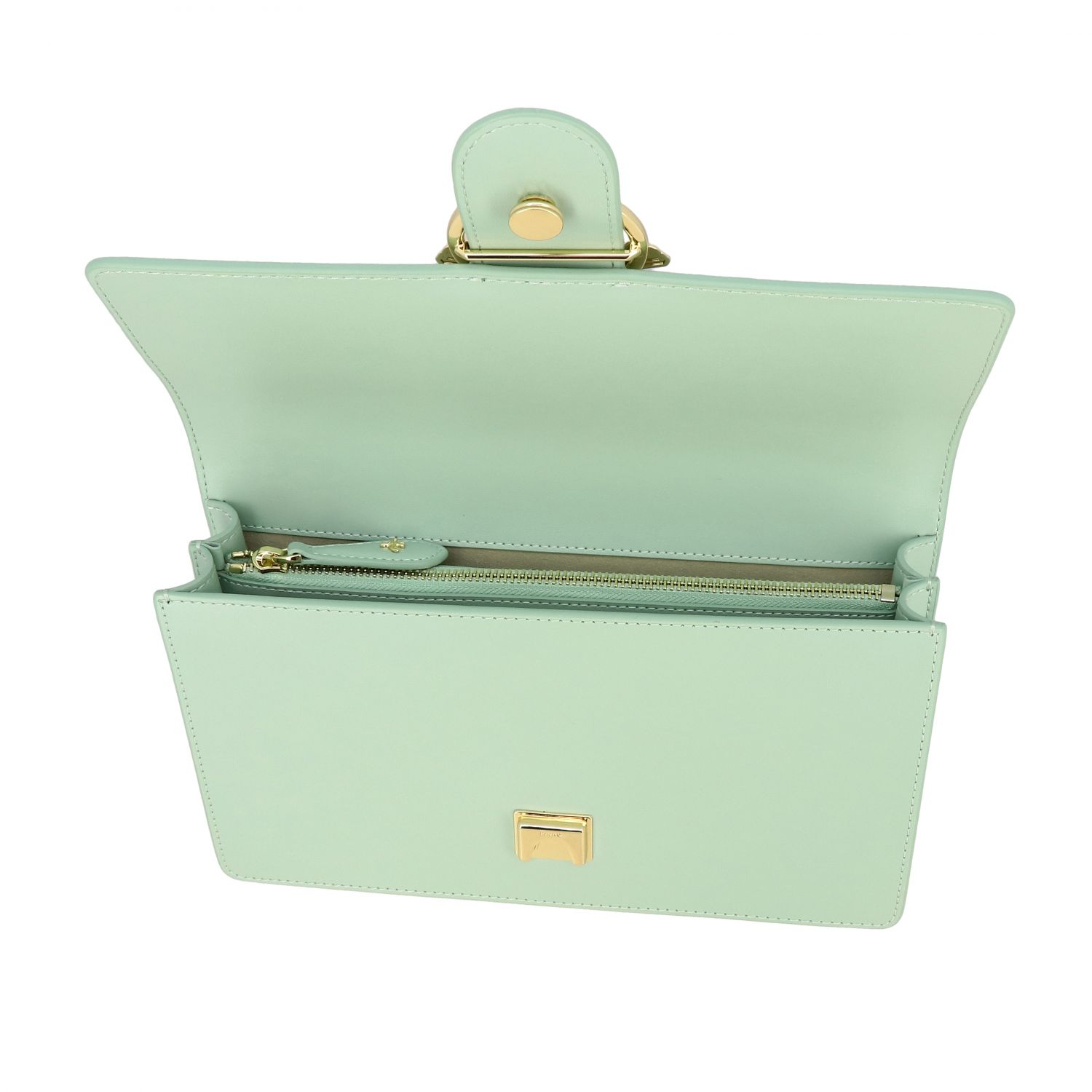 Borsa Love classic simply Pinko in pelle acqua 5