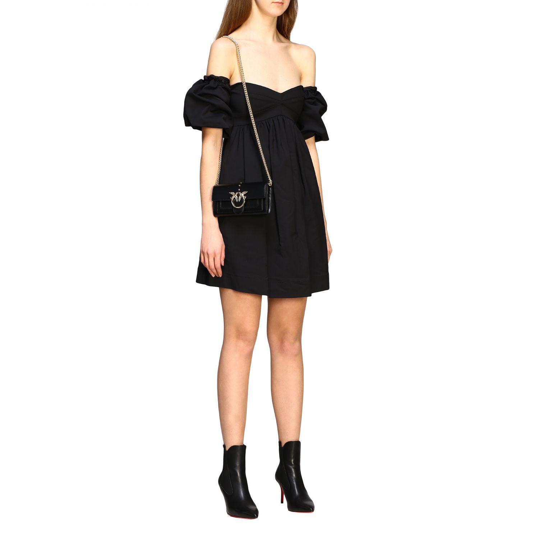 Mini bolso mujer Pinko negro 2