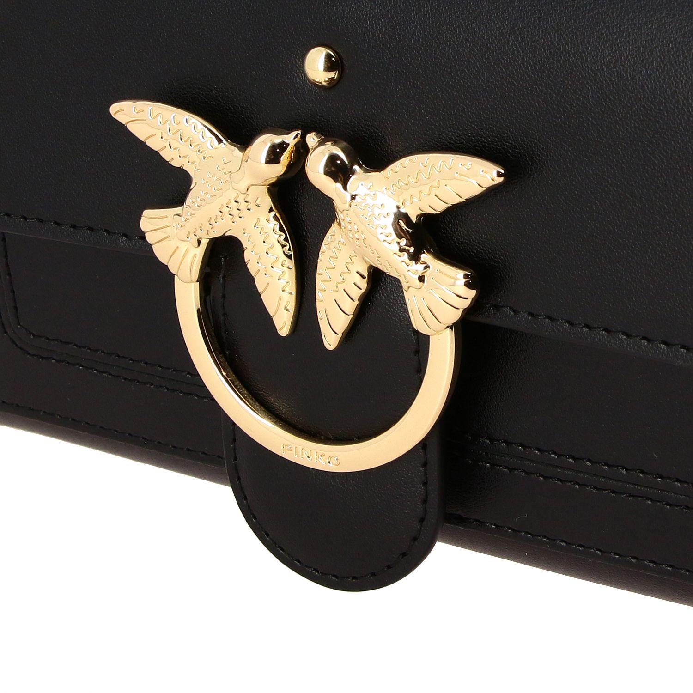 Mini bolso mujer Pinko negro 4