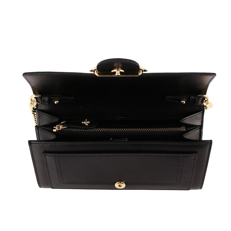 Mini bolso mujer Pinko negro 5
