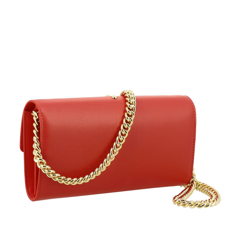 Borsa Love wallet simply Pinko in pelle rosso 3