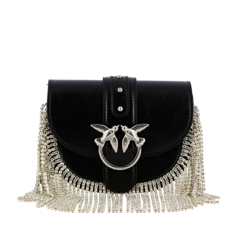 Shoulder bag women Pinko black 1