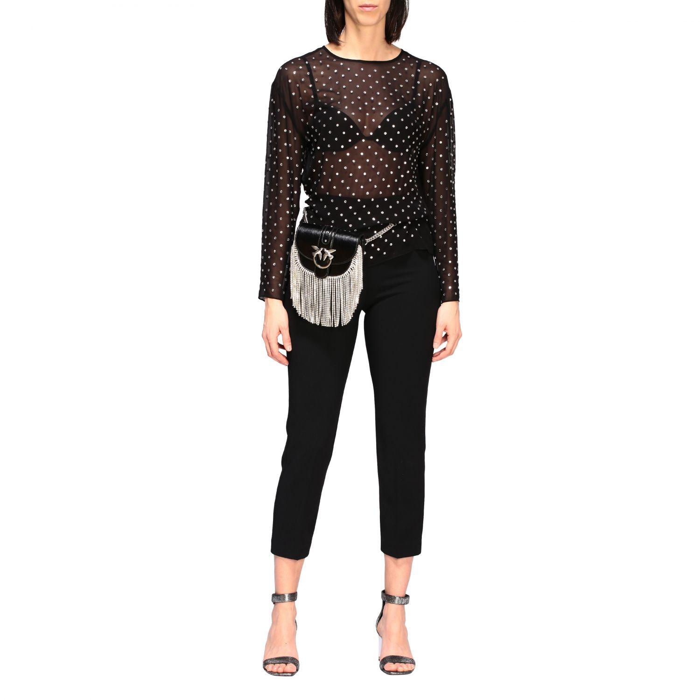 Shoulder bag women Pinko black 2