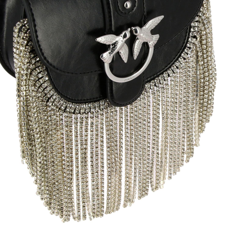 Shoulder bag women Pinko black 4