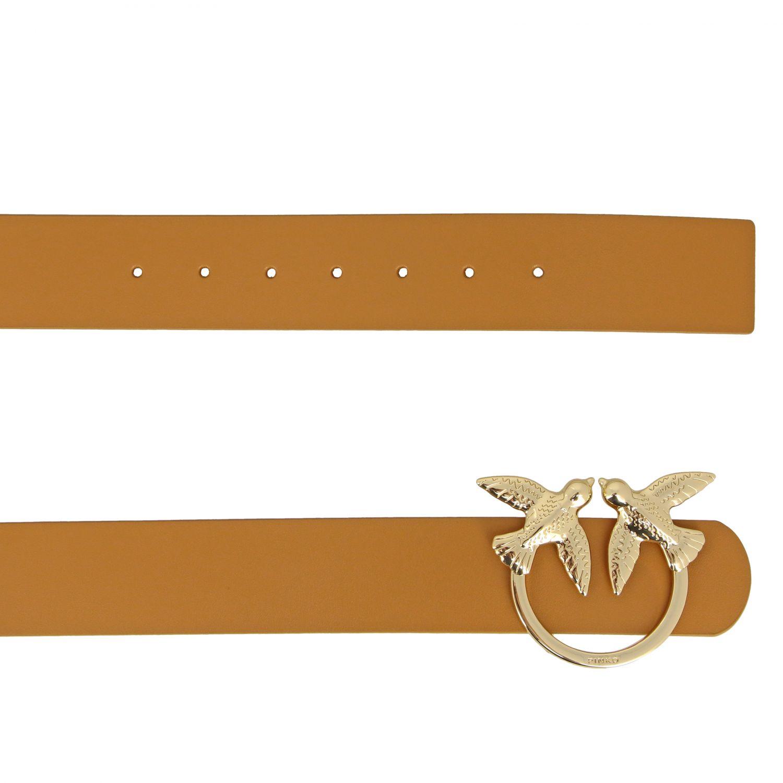 Cintura Berry simply Pinko in pelle con anello metallico cuoio 2