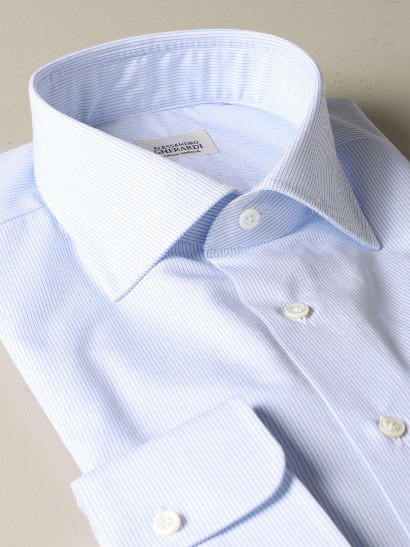 Shirt Alessandro Gherardi: Shirt men Alessandro Gherardi sky blue 2