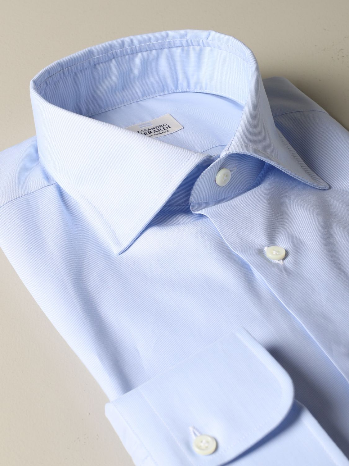 Shirt Alessandro Gherardi: Alessandro Gherardi regular fit shirt sky blue 2